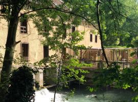 La Residence du Moulin avec piscine intérieure, Sainte-Maure (рядом с городом Saint-Benoît-sur-Seine)