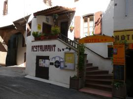 Hôtel Restaurant du Pont Vieux, Camarès (рядом с городом Briols)