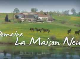 La Maison Neuve, Savignac-Lédrier (рядом с городом Chaud)