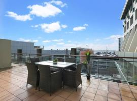 Renovated Apt with huge deck and car park