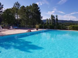 Camping HELLO SOLEIL, Lablachère (рядом с городом Planzolles)