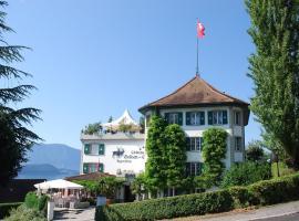 Jagd-Schloss - Swiss-Chalet Merlischachen, Merlischachen (Küssnacht yakınında)