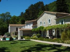 Les Jardins de Soulane B&B, Belcastel-et-Buc (рядом с городом Greffeil)