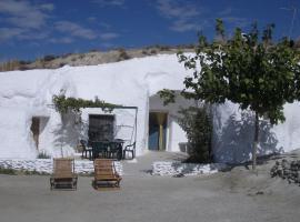 Cuevas Alcobas, Baza (El Hijate yakınında)