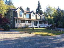 Mill Bay Forest Walks Vacation Suite, Mill Bay (Cobble Hill yakınında)