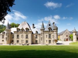 Chateau de Servigny, Yvetot Bocage (рядом с городом Негрвиль)