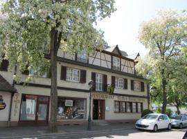 Hotel Weisses Kreuz, Neuenburg am Rhein (рядом с городом Отмаршем)