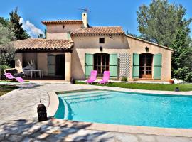 Villa , piscine, 10 mn sea,near St Paul/ Vence et cagnes/mer