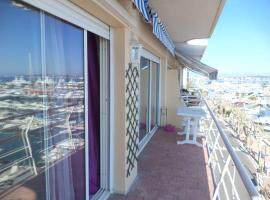 Seafront One-bedroom with amazing view, Vallauris (Near Golfe-Juan)
