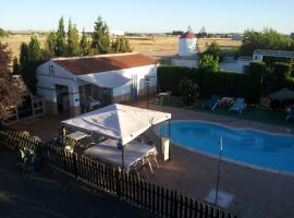 Casa de Pacas Quijote, Bolaños de Calatrava (рядом с городом Torralba de Calatrava)