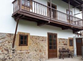 Casa Justa, San Martín de Luiña