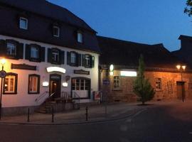Hotel Zum Engel, Eisenberg (Kerzenheim yakınında)
