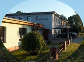 Pension Am Stettiner Haff, Ueckermünde (Bellin yakınında)