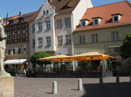 Hotel-Cafe am Rathaus, Gardelegen (Zichtau yakınında)