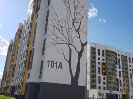 Apartment on st.Mazurova, Gomel (Volovo yakınında)