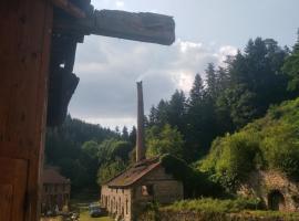 Gîte 'La FAYE, Menat (рядом с городом Chouvigny)