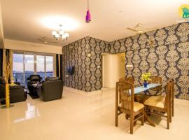 3 BHK Apartment in Borivali East, Mumbai(F3C8), by GuestHouser, Мумбай (рядом с городом Borivli)