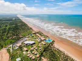 Praia encantadora, próximo ao Resort, Barra dos Coqueiros (Pirambu yakınında)
