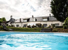 chambres d'hotes saint hubert, Saunay (рядом с городом Château-Renault)