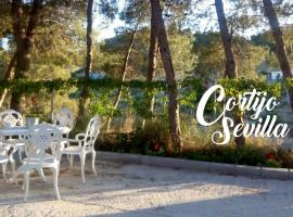 Cortijo Sevilla: Relax y Naturaleza, Purchena (Oria yakınında)