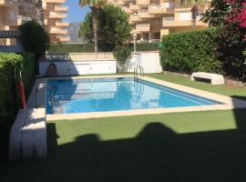 Playa Xeraco,(Valencia) Apartamento 1ra linea, Casas Las Basas