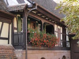 "Maison d'hôtes ""Au Fil du Temps"", Imbsheim (рядом с городом Штейнбур)"