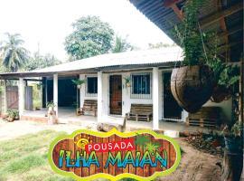 Pousada Ilha Maian, Algodoal (Maruda yakınında)