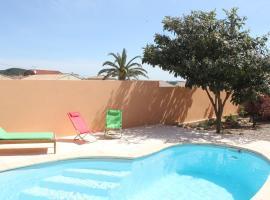 La Farigoule villa avec piscine privée, Creissan (рядом с городом Puisserguier)