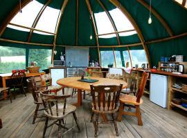 Valley Yurts, Gladestry (рядом с городом Llanfihangel-nant-Melan)