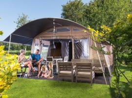 Country Camp camping Domaine de Mialaret, Нёвик (рядом с городом Lapleau)