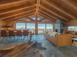 Oak Tree Chalet - on the ski slope - luxury!
