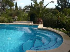 Septimanie villa avec piscine, Pouzols-Minervois