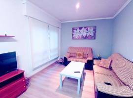 Apartamento moderno y luminoso, Santiago de Compostela (Peregrina yakınında)