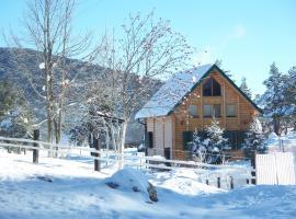 Kuca u borju - House in pines