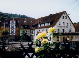 Gasthof Alte Post, Obertrubach (Betzenstein yakınında)