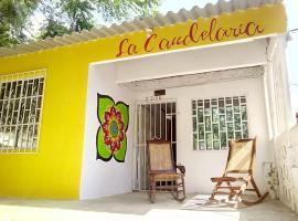 Hostel La Candelaria, Puerto Colombia (El Roble yakınında)