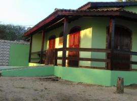 Casa na praia em Paraty, Tarituba (Ilha do Cedro yakınında)