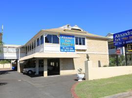 Alexandra Park Motor Inn, Bundaberg (North Coast yakınında)