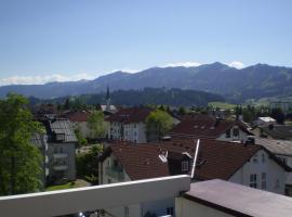 PenthouseApartment 250°, Sonthofen (Burgberg yakınında)