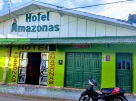 Hotel Amazonas, Benjamin Constant (Paumari yakınında)