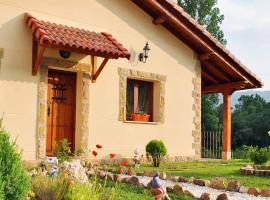 Casa Rural Refugio del Cueto***, Villamanín (Huergas de Gordón yakınında)