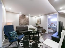Athlone Fully Furnished House Lower Level, Edmonton (St. Albert yakınında)
