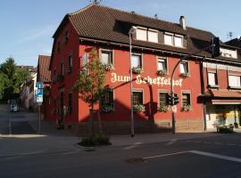 Zum Scheffelhof, Maulbronn