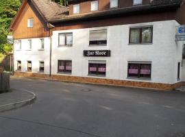 Hotel Rose Garni, Giengen an der Brenz (Rammingen yakınında)