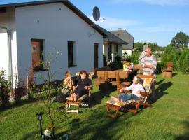 Ostseeurlaub in Jan´s Delfin mit Terrasse für Familien, Neuendorf