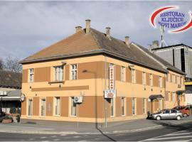 Restoran Sobe Ključice, Novi Marof (рядом с городом Hrašćina)