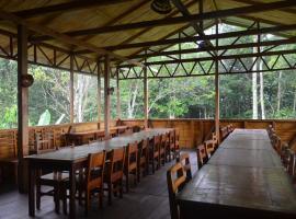 Chocolate lodge, Ahuano (Sunimón yakınında)