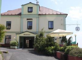 Hotel Hubertus, Lázně Kynžvart (Stará Voda yakınında)