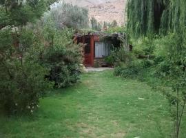 Domos y Cabañas Elqui, Pisco Elqui (Alcoguaz yakınında)