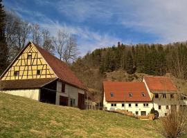 Mühlenchalet, Gundershofen (Frankenhofen yakınında)